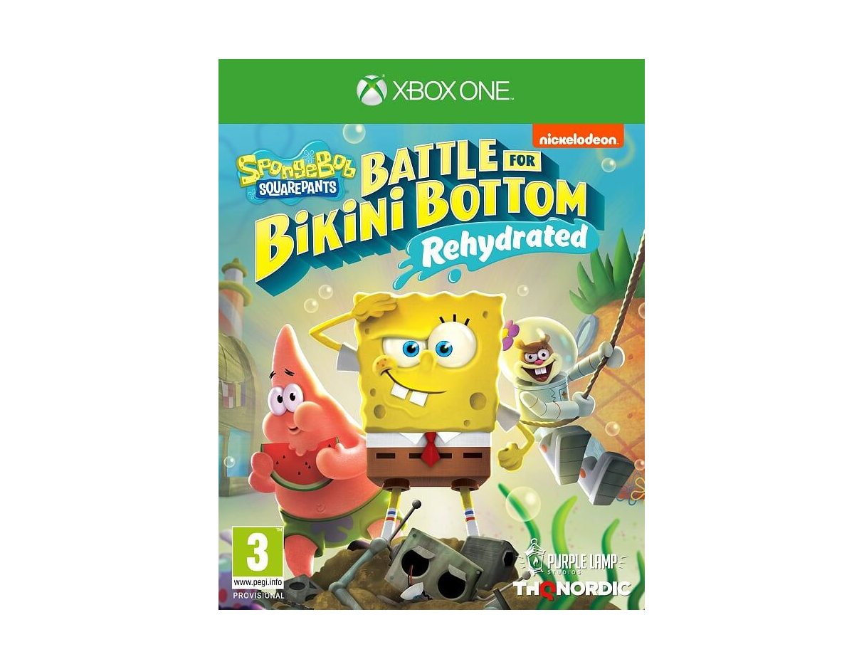 Xbox One SpongeBob SquarePants: Battle For Bikini Bottom -Rehydrated Xbox One