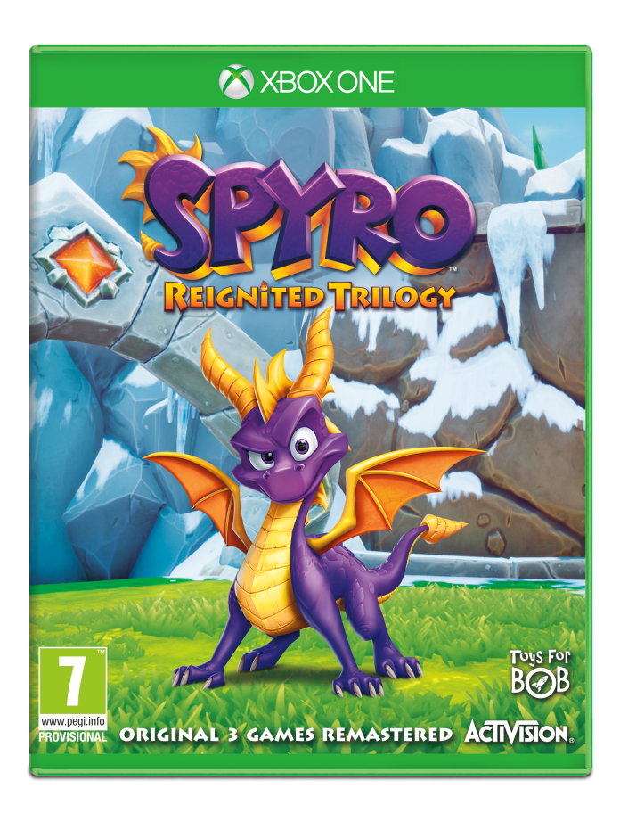 Xbox One Spyro Reignited Trilogy Xbox One