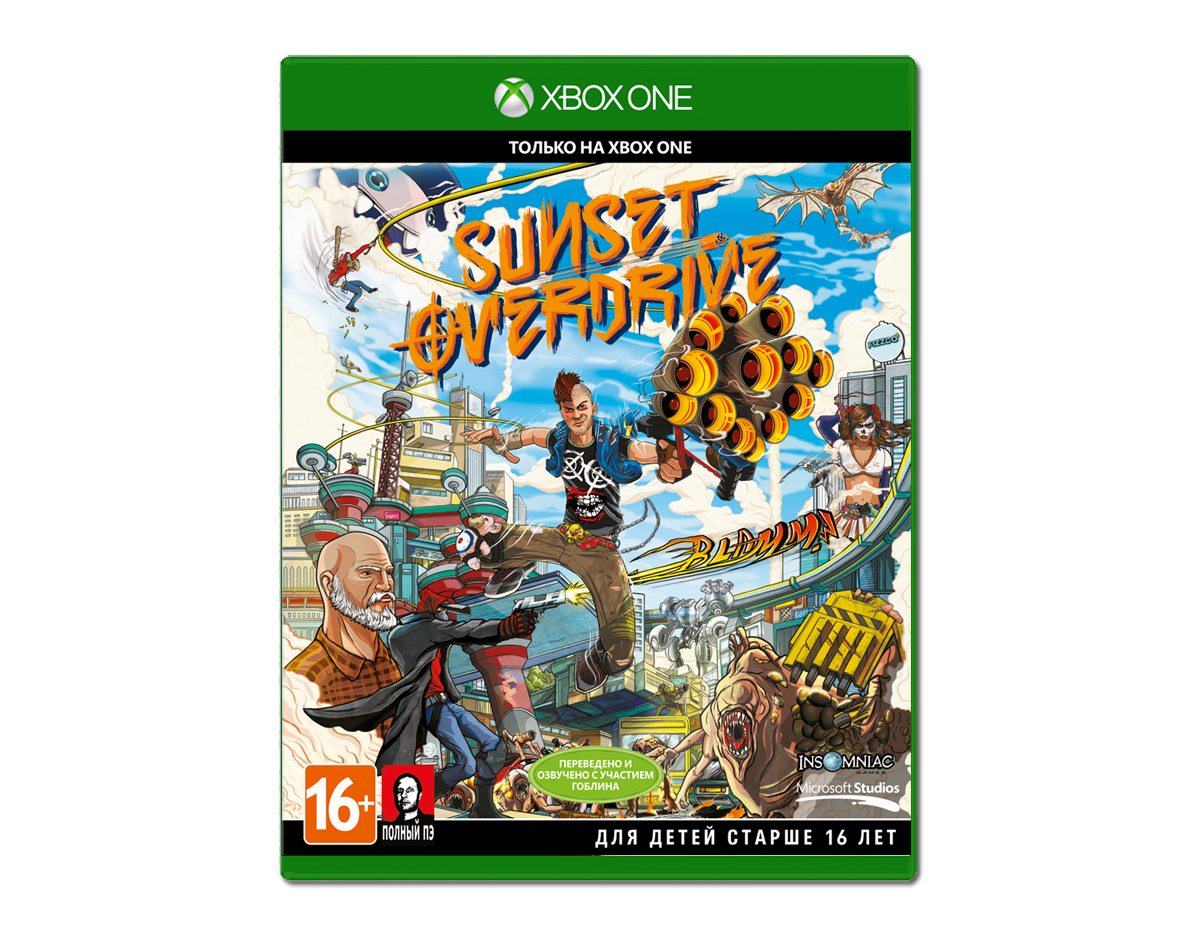 Xbox One Sunset Overdrive Day One Edition Xbox One