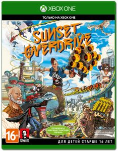 Xbox One Sunset Overdrive Day One Edition